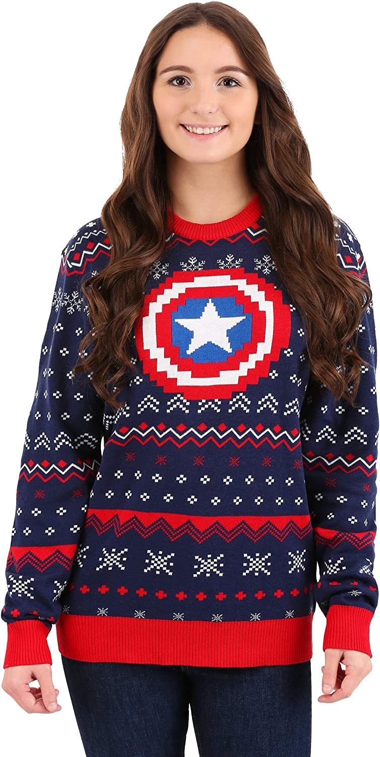 Marvel: Captain America Ugly Easy-to-use 55% OFF Christmas Sweater
