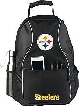 Officially Licensed NFL Phenom Backpack, Black, 19
