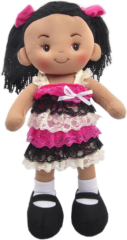 Linzy Plush 16  Demi Doll Soft Rag