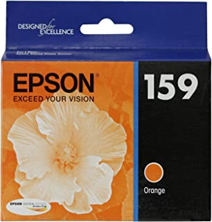 Epson T159920 OEM Ink - (159) Stylus Photo R2000 UltraChrome Hi-Gloss 2 Photo Orange Ink Cartridge OEM