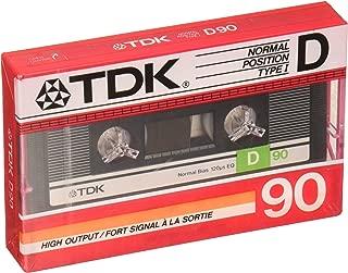 TDK D90 Audiocassette - Normal Bias