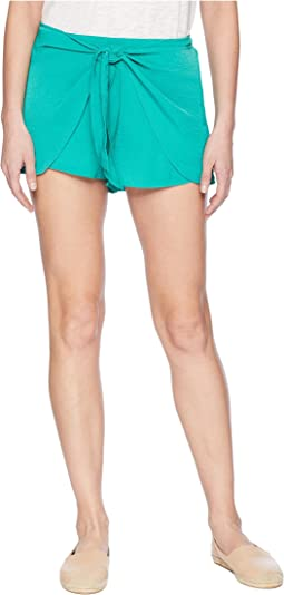 Quinn Tie Front Shorts