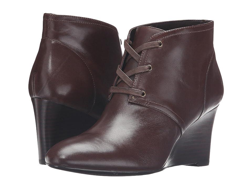 LAUREN Ralph Lauren Tamia (Dark Brown Burnished Calf) High Heels