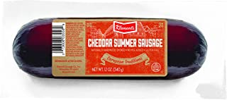 Klement's Cheddar Summer Sausage, 12 Ounce