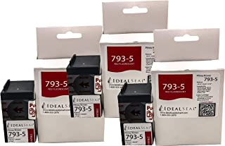 Three Pack Pitney Bowes Compatible 793-5 Red Ink Cartridge for P700, DM100, DM100i, DM125i, DM150i, DM175i, DM200L, DM225, Send Pro C200,C300,C400, Send Pro 300, DM Series, Send Pro C Series: