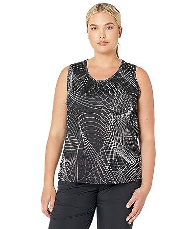 Skirt Sports Plus Size Breakaway Tank Top (Galactic Print) Women