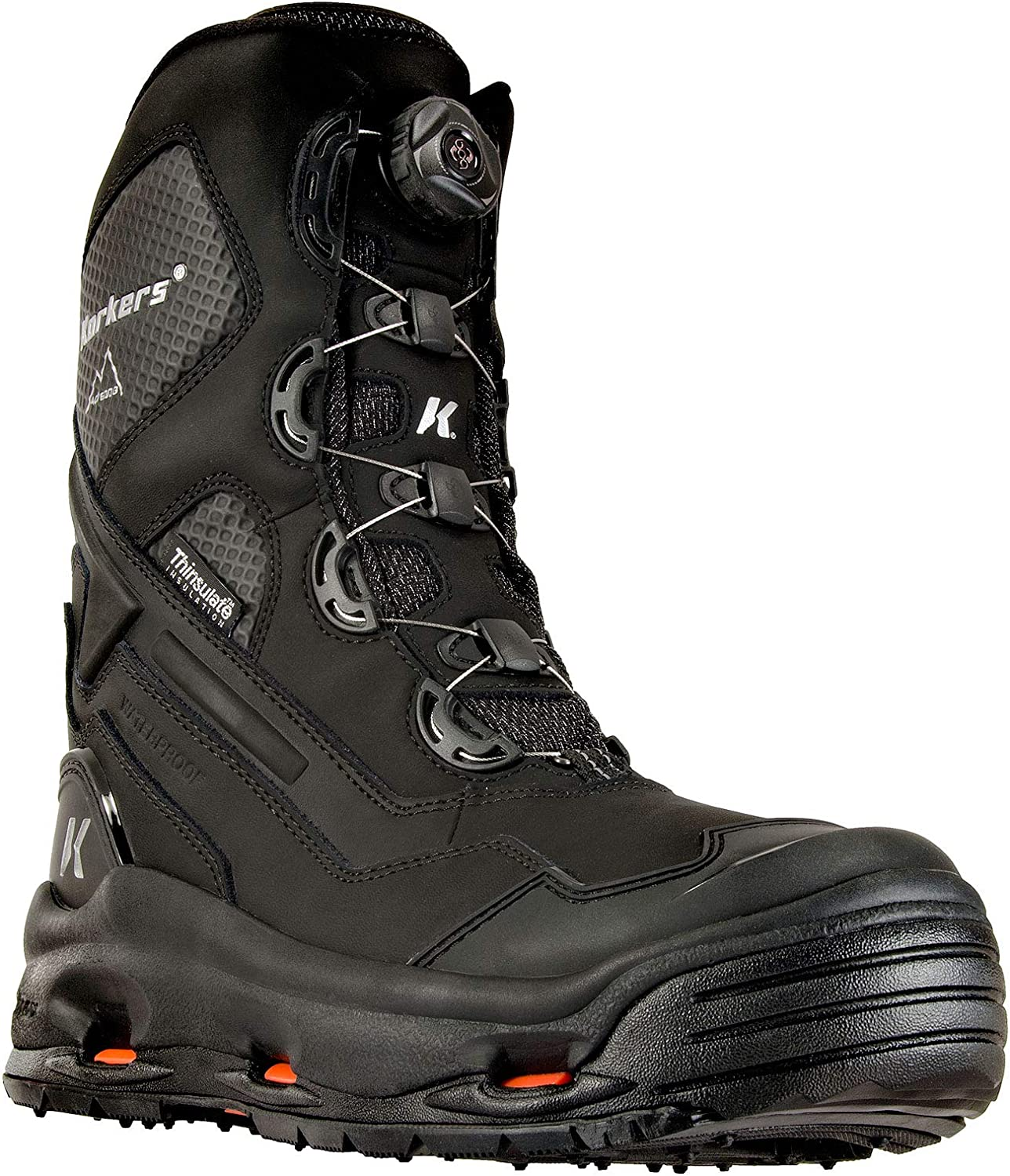 Korkers Men's Polar Vortex 600G Winter Boots