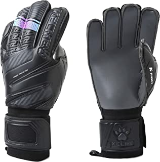 KELME Soccer Goalkeeper Gloves – Indoor and Outdoor - Training and Professional Goalie Gloves for Adults and Kids with Finger Protection
