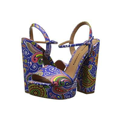 Chinese Laundry Abie (Blue Paisley) High Heels