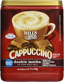 Hills Bros. Sugar-free Double Mocha Cappuccino, 12-oz. Canister (Pack of 3)
