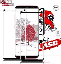 Gozhu [2-Pack] Galaxy S8 Plus Screen Protector Tempered Glass,[Anti-Fingerprint][No-Bubble][Scratch-Resistant] Glass Screen Protector for Samsung Galaxy S8 Plus