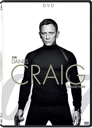 007: Daniel Craig as James Bond - 4 Movies Collection - Casino Royale + Quantum of Solace + Skyfall + Spectre (4-Disc Box Set)