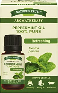Nature's Truth Essential Oil, 100% pure Peppermint Oil, 1 Count