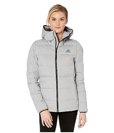 adidas Outdoor Helionic Hooded Jacket (Medium Grey Heather) Women