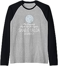 The Longest Night Of The Year Shab E Yalda December 21 Gift Raglan Baseball Tee