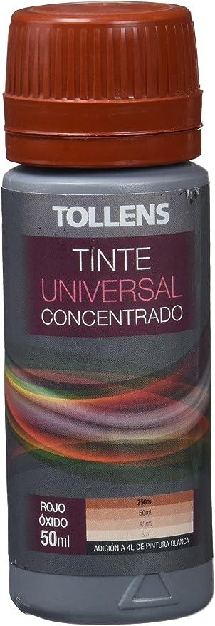 Tollens 8600 Tinte Universal, Rojo Oxido, 50 ml