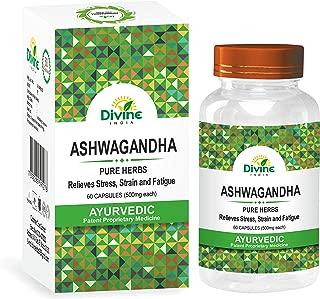 Divine India Ashwagandha Capsules - 60 Capsules