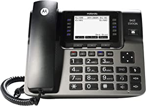 $109 » Motorola ML1000 DECT 6.0 Expandable 4-line Business Phone System with Voicemail, Digital Receptionist and Music on Hold, B...