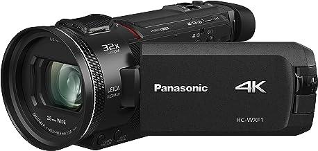 "Panasonic HC-WXF1 4K Cinema-like Camcorder, 24x Leica Dicomar Lens, 1/2.5"" Bsi Sensor, Three O.I.S. Stabilizer Systems"