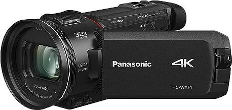 Panasonic HC-WXF1 4K Cinema-like Camcorder, 24x Leica Dicomar Lens, 1/2.5