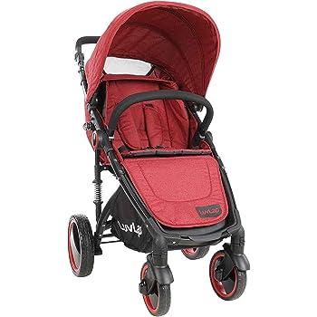 Luvlap Elegant Baby Stroller - Red