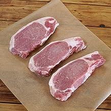 北海道十勝 放牧豚 ロース ステーキ 500g Free Range Pork Loin Steaks