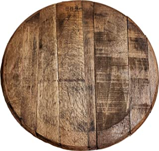 Rustic Home Decor Whiskey Barrel Head Unstamped Authentic Bourbon Beer Bar Sign Man Cave