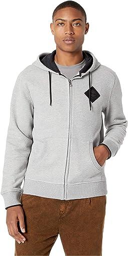 Full Zip Logo Hoodie Sweatshirt