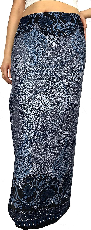 Moon River Clothing Co. Bohemian Skirt for Women, Boho Wrap Skirts