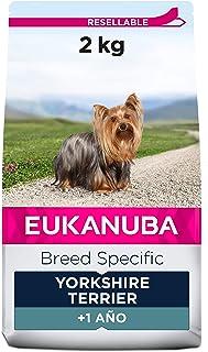 EUKANUBA Breed Specific Alimento seco para perros yorkshire terrier adultos, alimento para perros óptimamente adaptado a l...