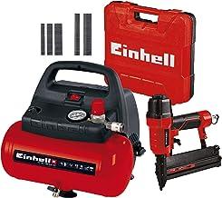 Einhell TC-AC 190/6/8 OF Kompressor, 1.100 W, max. 8 bar, öl-/servicefreier Motor, 6 l + Einhell 4137790 TC-PN 50 Druckluf...
