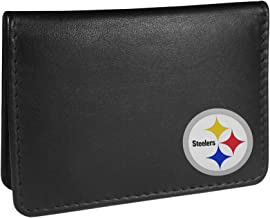 Siskiyou NFL Pittsburgh Steelers Weekend Bi-fold Wallet, Black