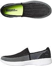 Skechers Go Walk 4- Ravish Walking Shoes for Women, Black & White, Size 40 EU