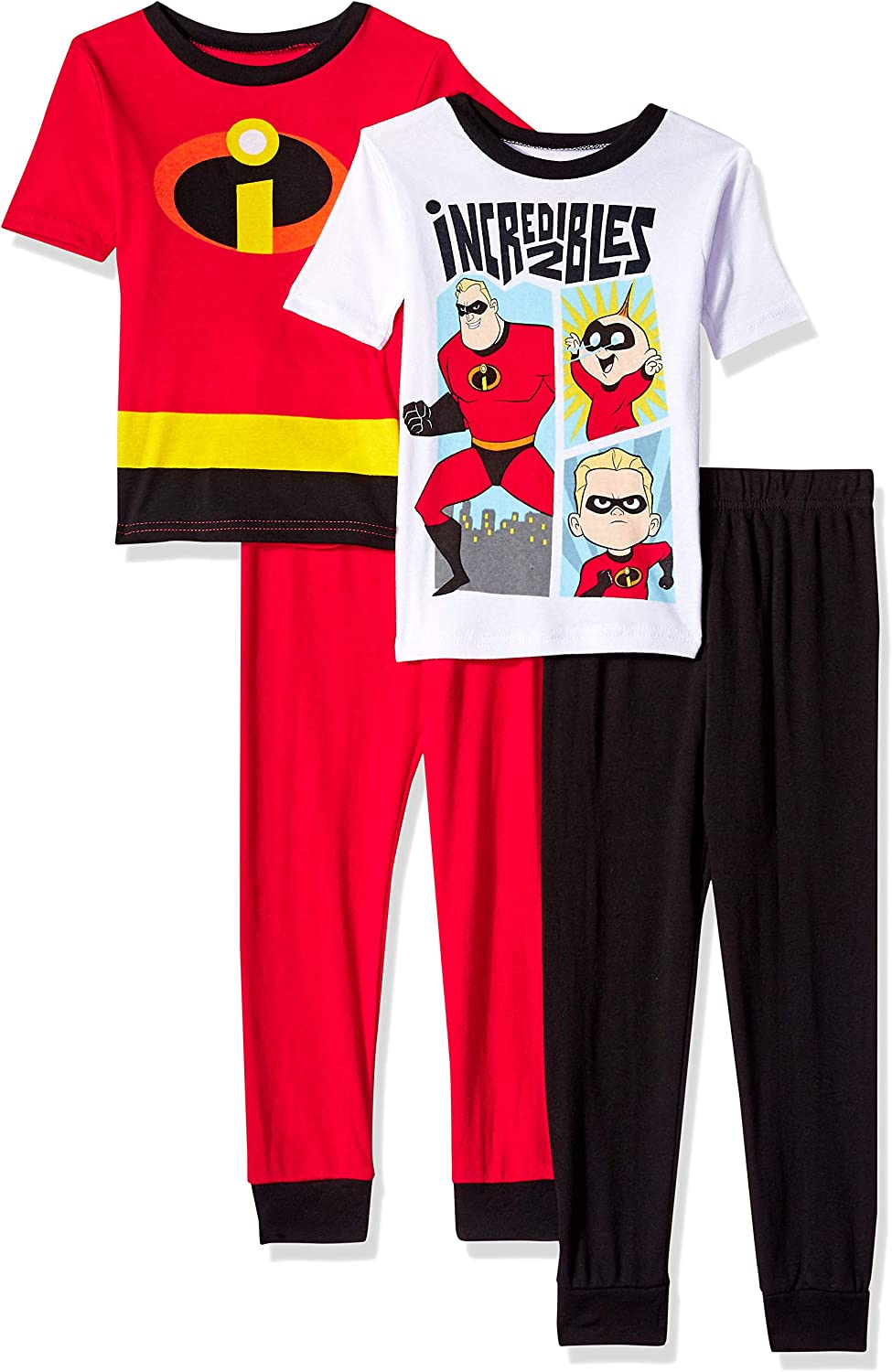Boys Disney Pixar Team Incredibles 2 Elastigirl Dash Cotton Pyjamas 4-10 Years