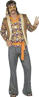 Men's 60s Singer Costume, Male, with Top, Waistcoat