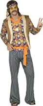 Smiffys Men's 60s Singer Costume, Male, with Top, Waistcoat