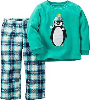 Baby Boys' 2 Piece Pj Set-Penguin