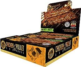 Golden Nest Chicken Jerky Bar, Gluten Free, Healthy Meat From Gourmet USA, Non-GMO Honey Glazed (1.5 oz.) (Honey Teriyaki, Pack of 12)