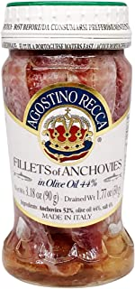 Agostino, Anchovies In Oil Jar, 3.35 Ounce
