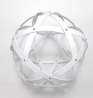 Pentasfera (genesa 6 cerchi), Purificatore energia, Dispositivo orgonico 32 cm diametro, Bianco