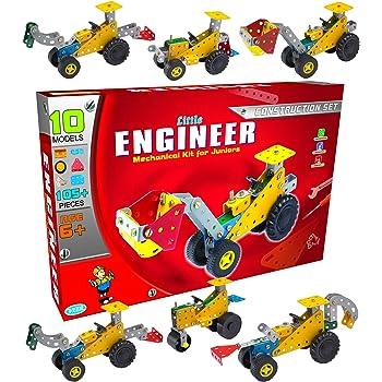 SARTHAM Mechanical Toys, Mechanical Kit for Kids (Construction Set for Age 6+) Multicolour
