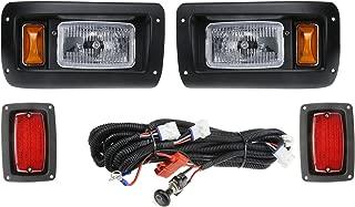 Club Car DS Golf Cart Headlight and LED Tail Light Kit - 1993 & Up