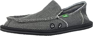 Sanuk Big Boys' Vagabond Slip On Shoes