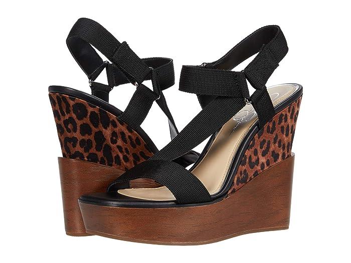 Jessica Simpson  Amillia (Black) Womens Wedge Shoes