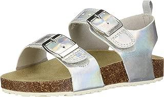 carter's Girl's Duncan Metallic Buckle Strap Sandal,
