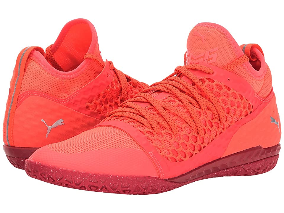 PUMA 365 Ignite Netfit CT (Fiery Coral PUMA White Toreador) Men s Shoes. On  sale ... d137fd735