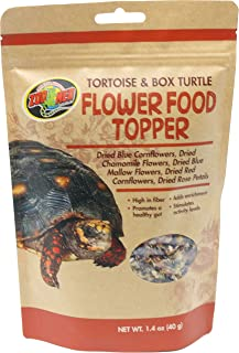Zoo Med Tortoise and Box Turtle Flower Food Topper
