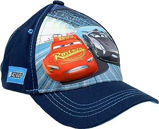Disney Boy's Cars Race Ready 3D POP Baseball Cap, Age 4-7 Navy