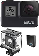 GoPro HERO7 Black + Extra Battery + Super Suit Dive Housing Case - E-Commerce Packaging - Waterproof Digital Action Camera...