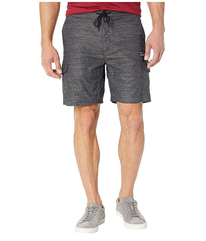 Hurley 19 Dri-Fit Breathe Cargo Shorts (Black) Men